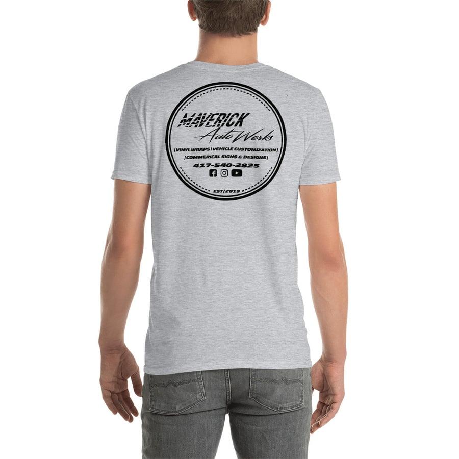 Image of Grey Circle Logo Tee