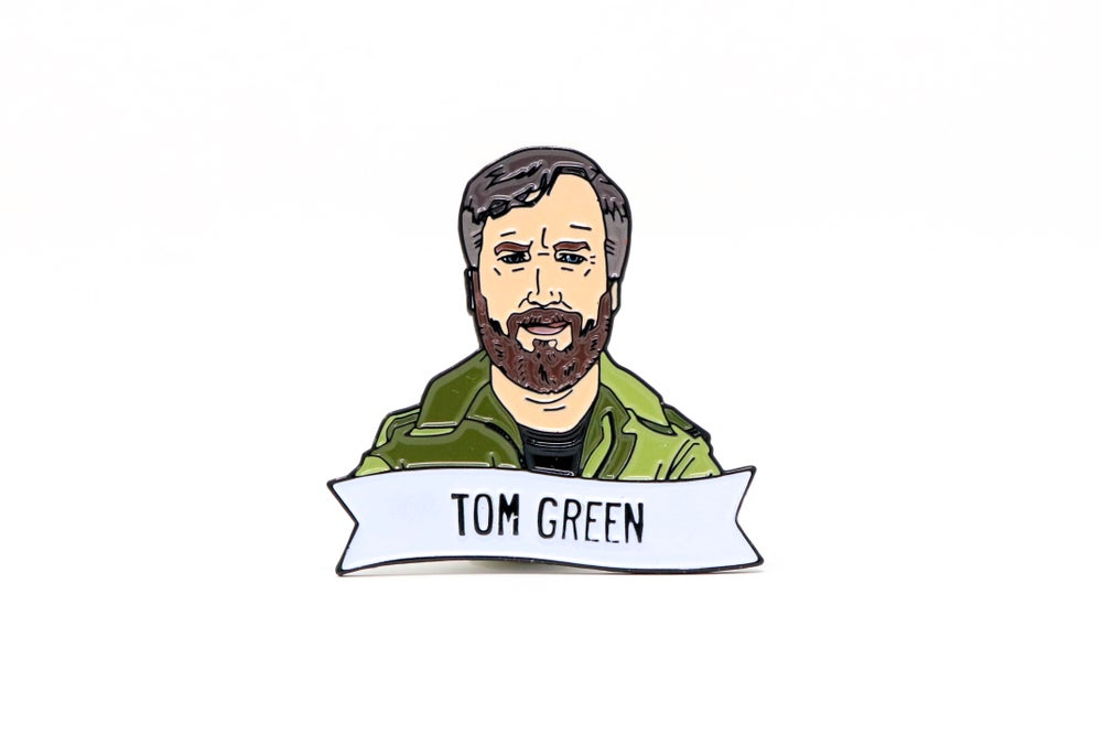 Image of Tom Green Enamel Pin