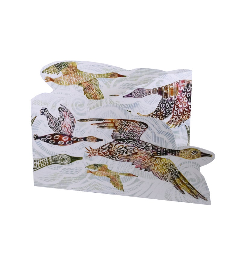Image of Flying Geese Tri-fold