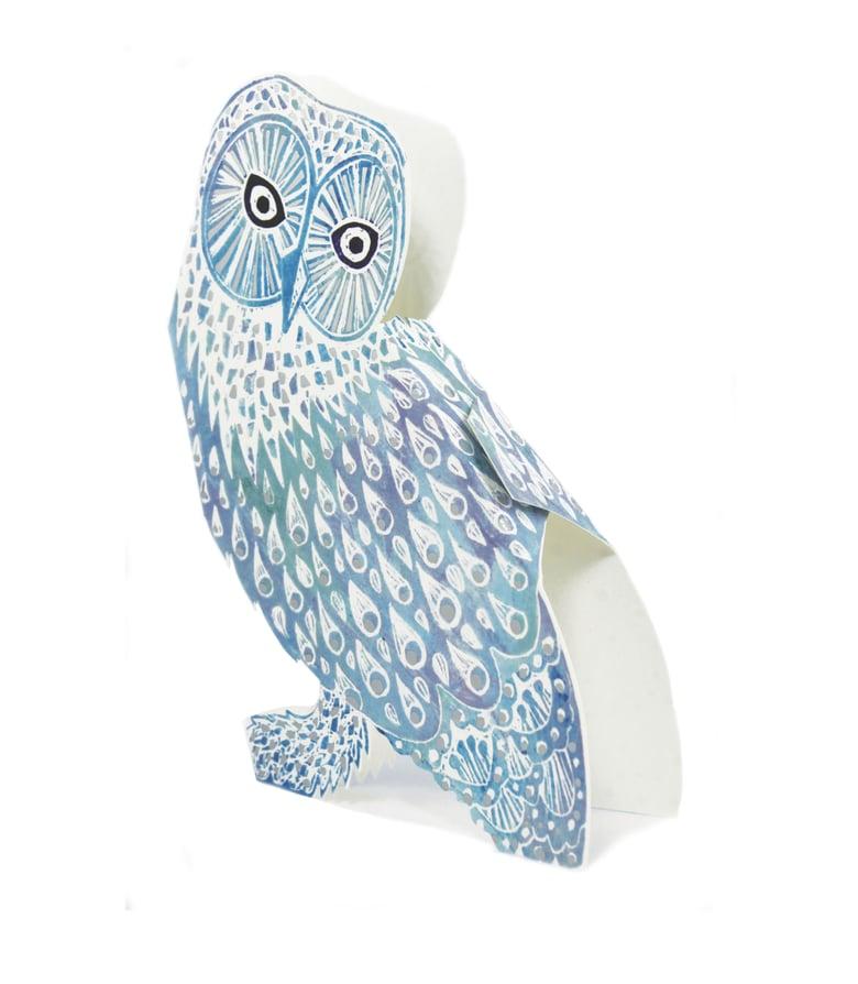 Image of Snowy Owl Foil 3D