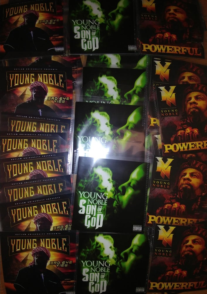 Image of (COLLECTORS EDITION) Young Noble Autographed 3 CD Bundle Pack - FREE SHIPPING