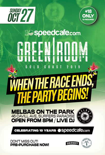 Image of 2019 Speedcafe.com Gold Coast Greenroom
