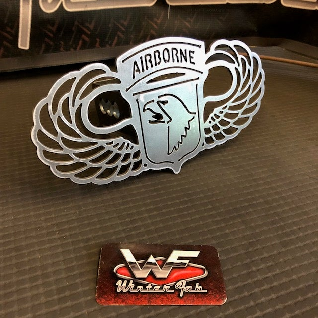 Image of 101st Airborne Wings Hitch Cover