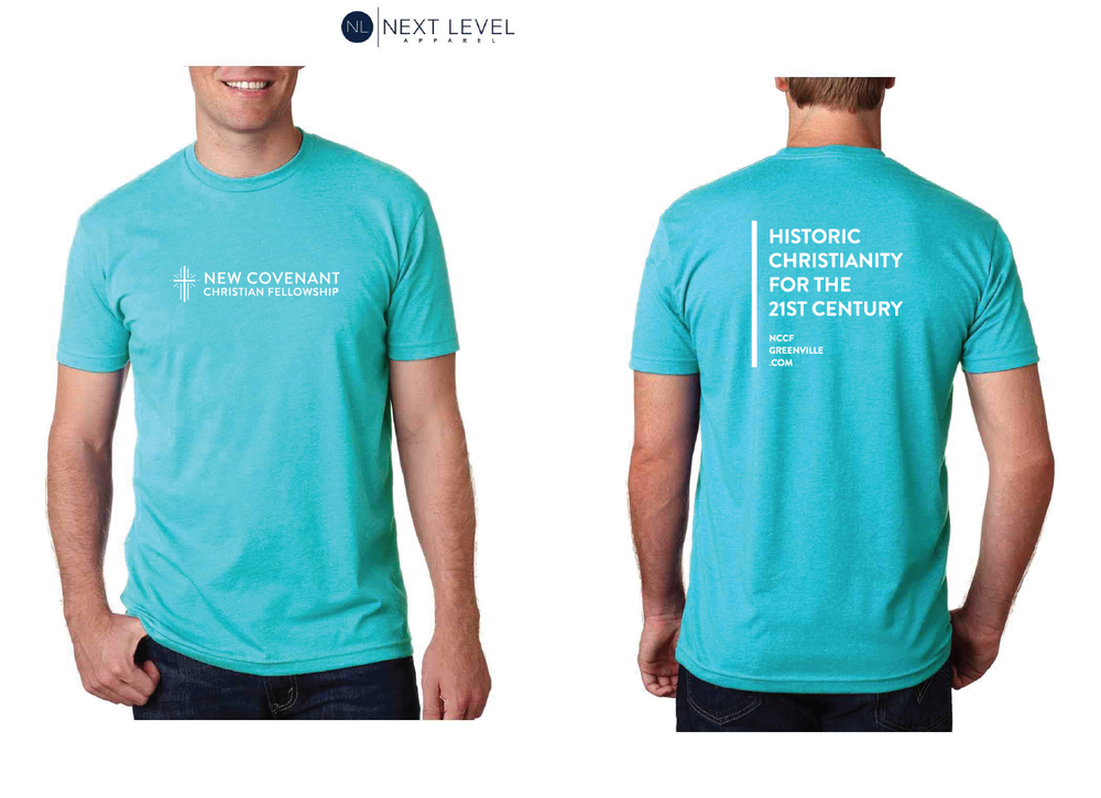 Image of NCCF Tshirt Tahiti Blue