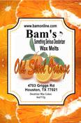 Image of Old Skool Orange Wax Melts