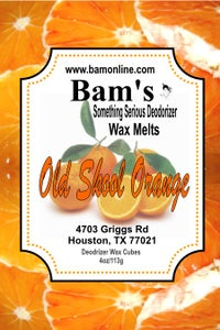 Image of Old Skool Orange Wax Melts