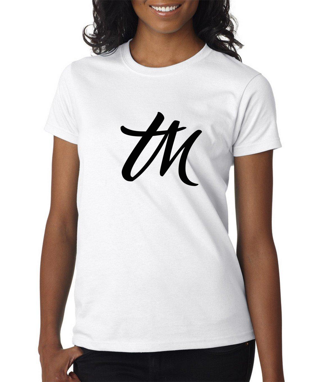 Image of Womens TM Logo Shirt  White