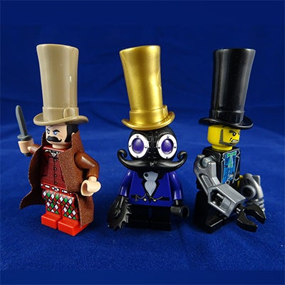 Image of Excessively Large Top Hats - BACK IN STOCK!