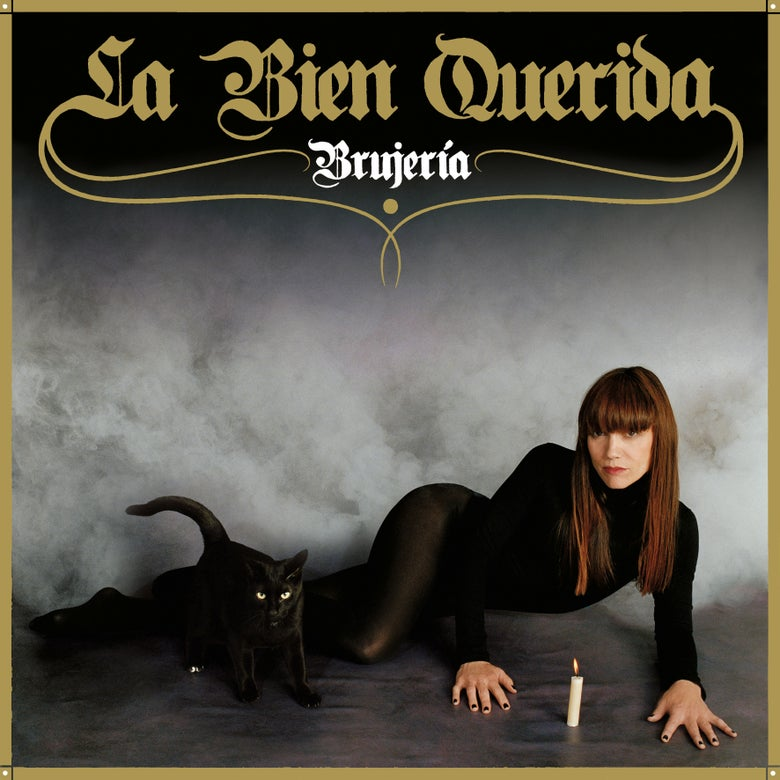 "Image of LA BIEN QUERIDA - Brujería (12"" Red Vinyl with Gold Ink Gatefold LP / or CD Digi-Sleeve)"