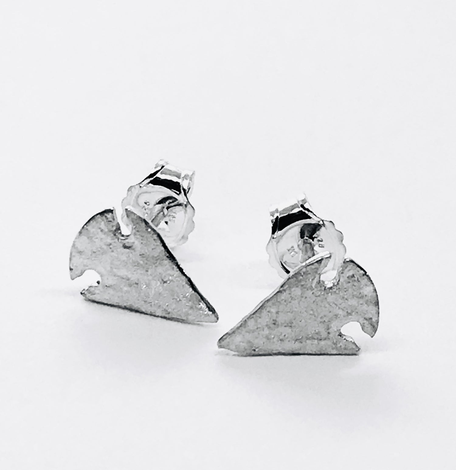Image of Arrowhead Stud Earrings