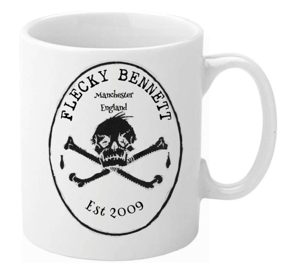 Image of Flecky Bennett Logo Mug Free P&P