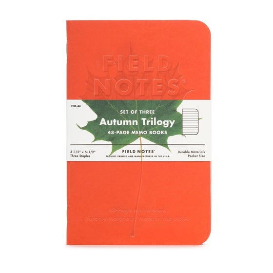 Image of Field Notes - Autumn Trilogy