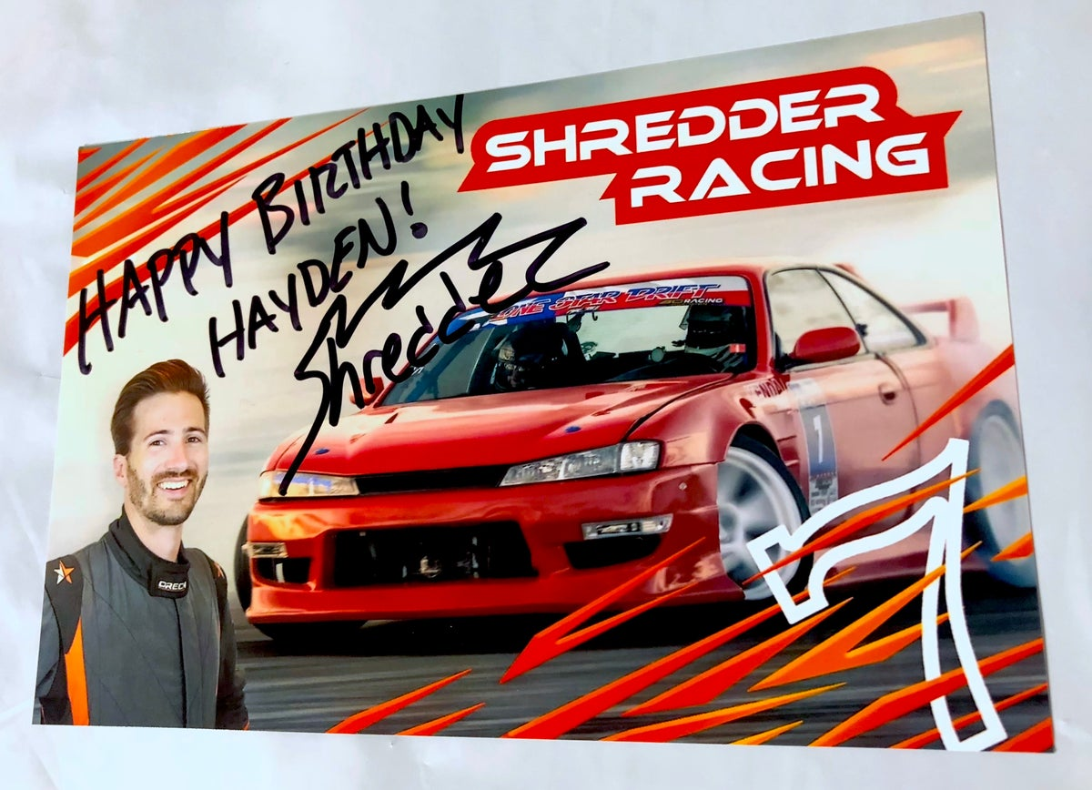 Image of Signed Hero Card!
