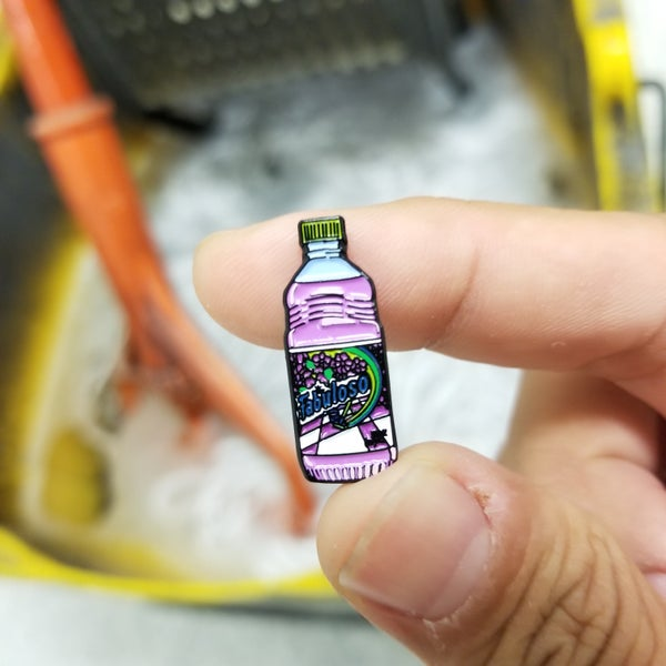 Image of Fabuloso Mini Bottle pin