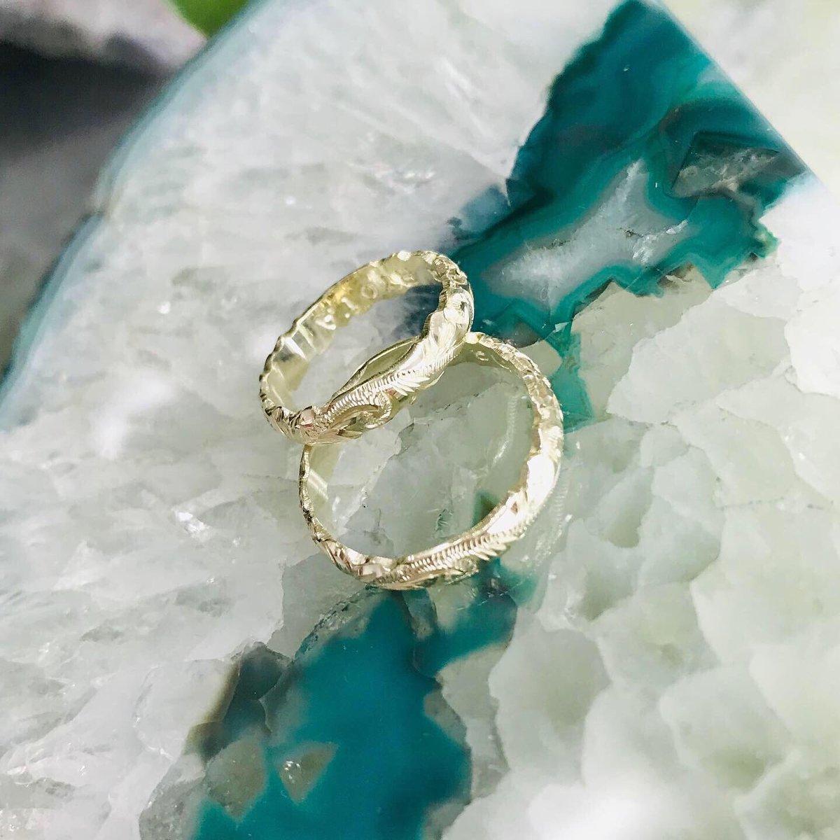 Image of Green gold hawaiian ring