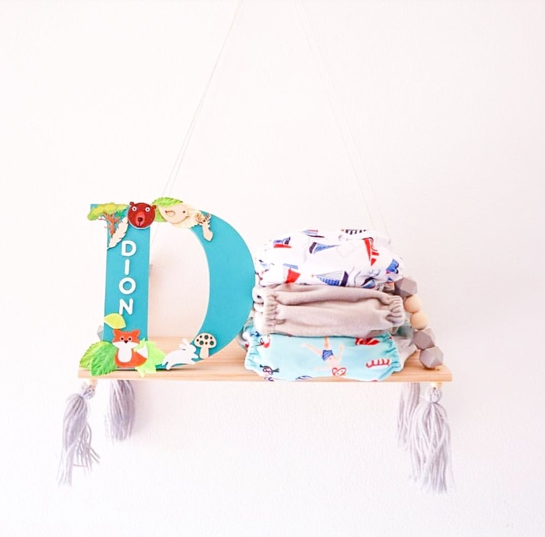 Image of Boys WOODLAND/JUNGLE Personalised Letters
