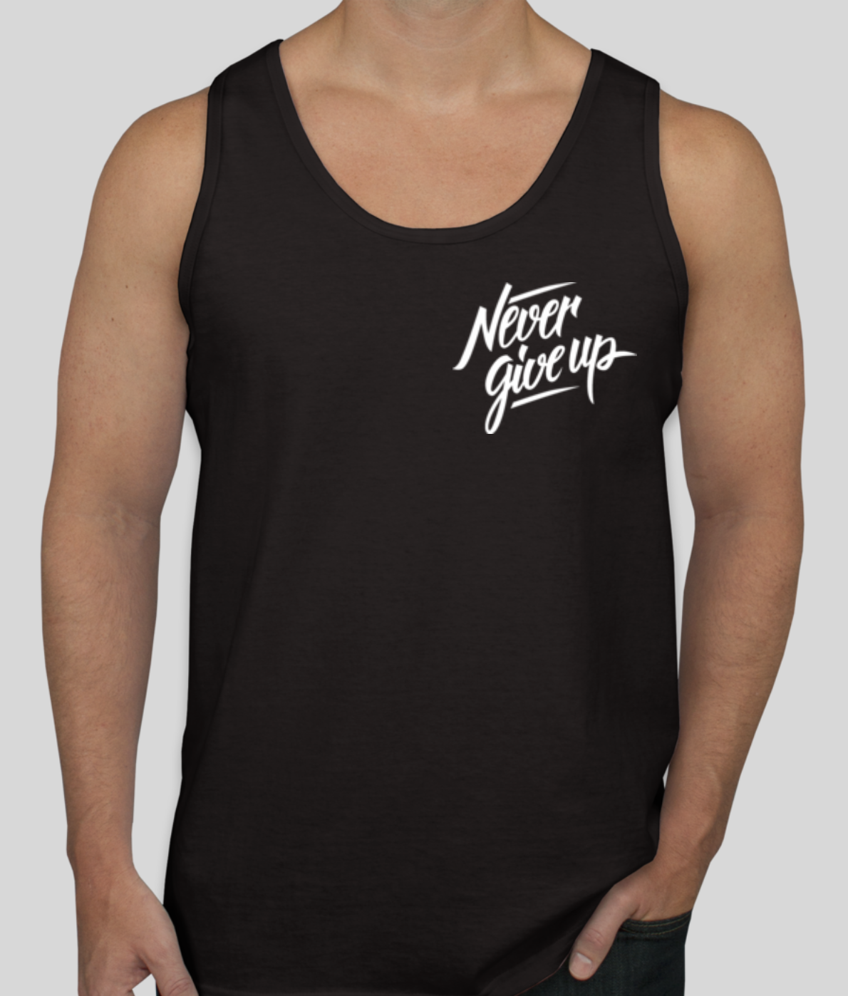 Image of Never Give Up Tank