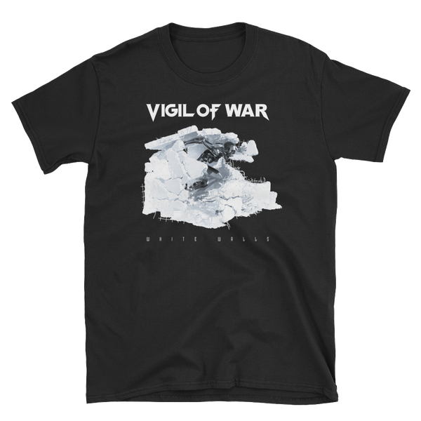 Image of WHITE WALLS T-Shirt-FREE shipping to U.S.A and Europe