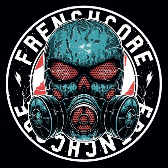 Image of Frenchcore Mask Sticker