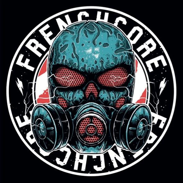 Image of Frenchcore Mask Sticker
