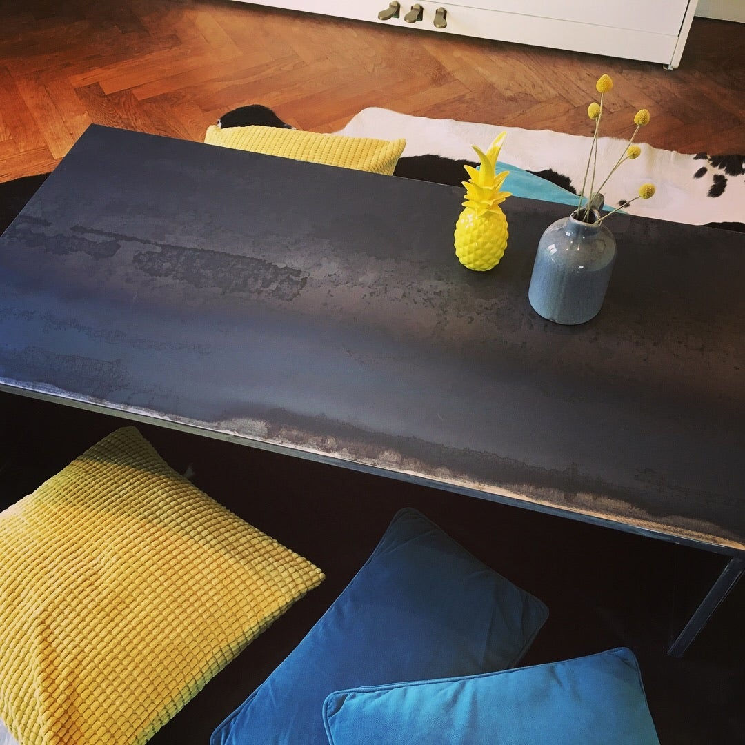 Image of ★ Table Basse Acier ★ Sur commande