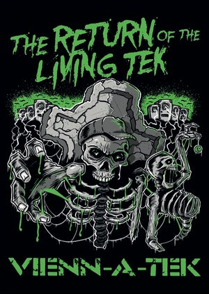 Image of The return of the living tek  Sticker
