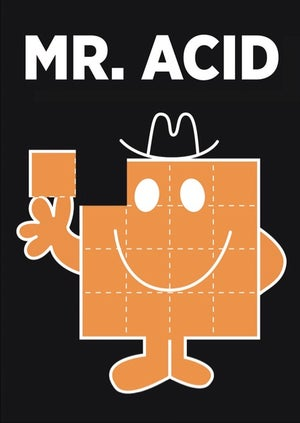 Image of Mr. Acid Sticker
