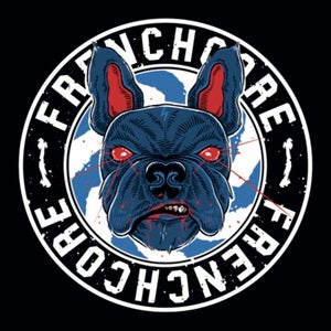 Image of Frenchcore bulldog Sticker