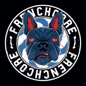 Image of Frenchcore bulldog Sticker