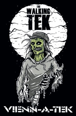 Image of The walking tek Sticker