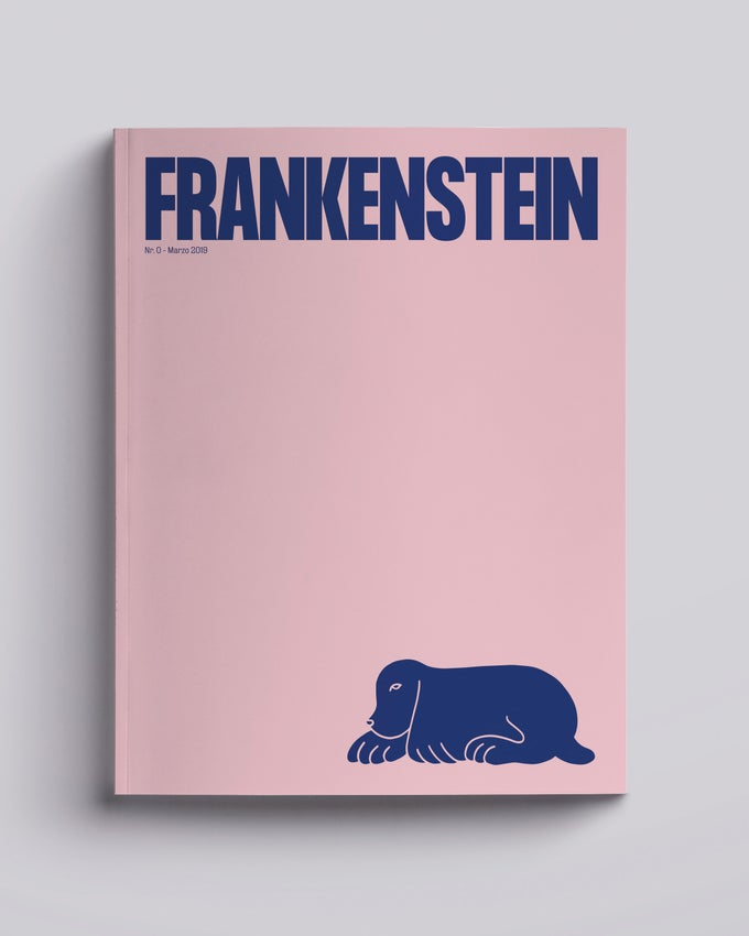 Image of Frankenstein Magazine ZERO