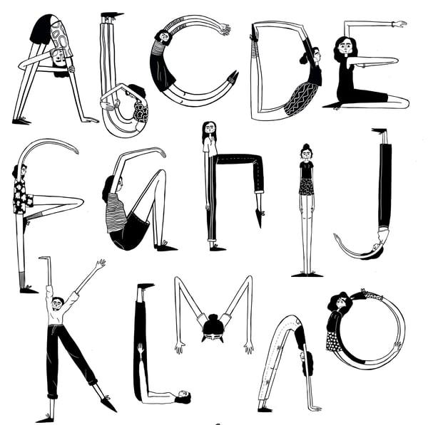 Image of Tall Girl Alphabet