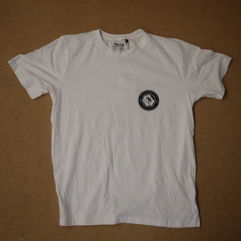 Image of White Chest Logo T-Shirt