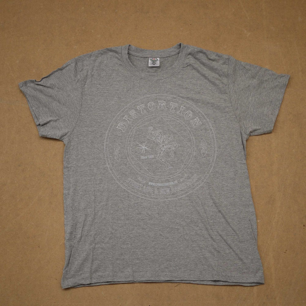 Image of Grey Outlined Logo T-shirt