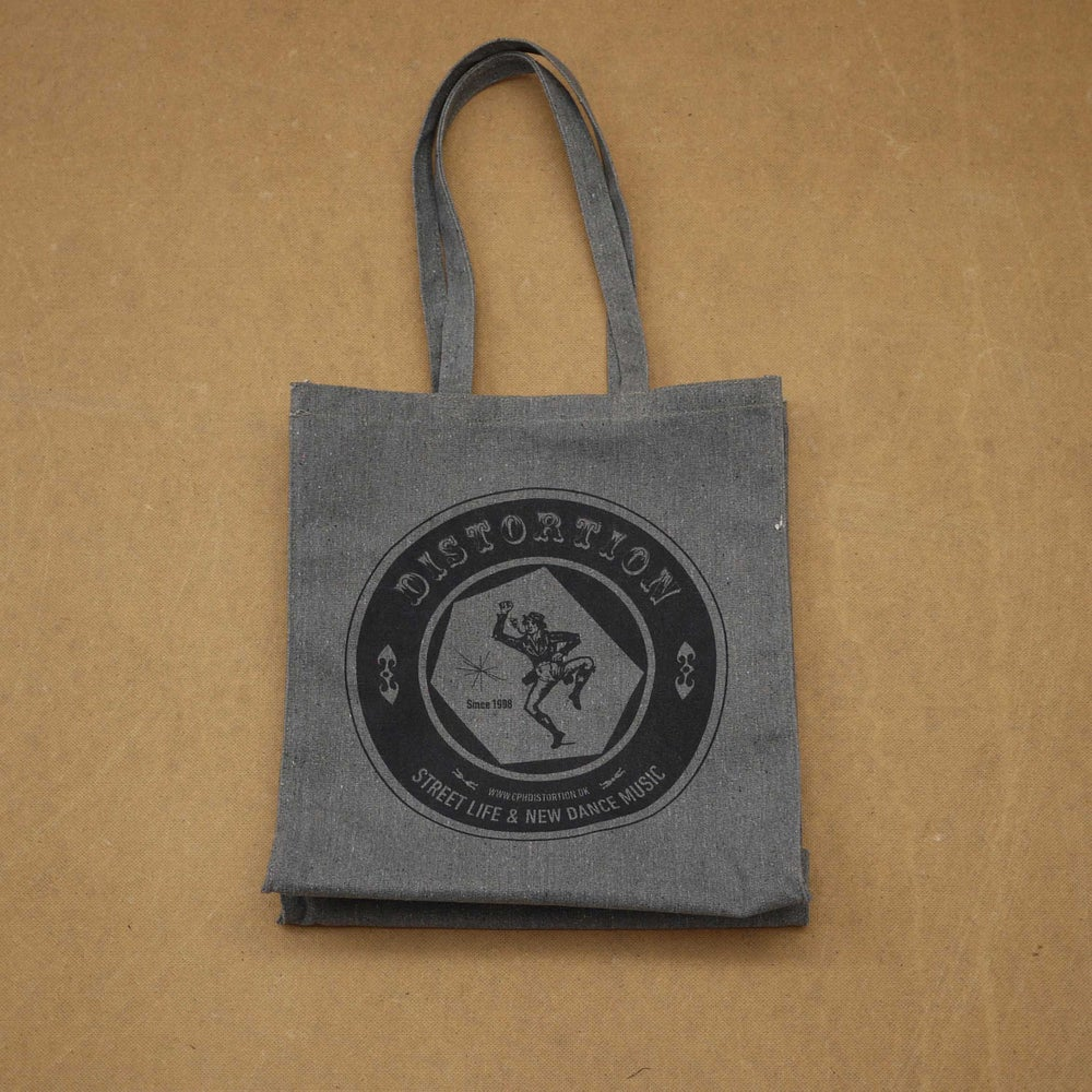 Image of Grey Logo Tote Bag