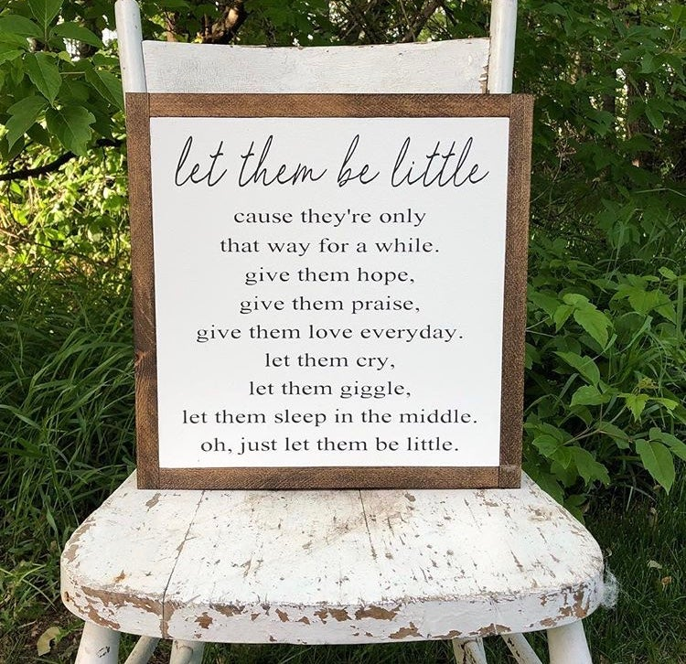 Image of Let Them Be Little.