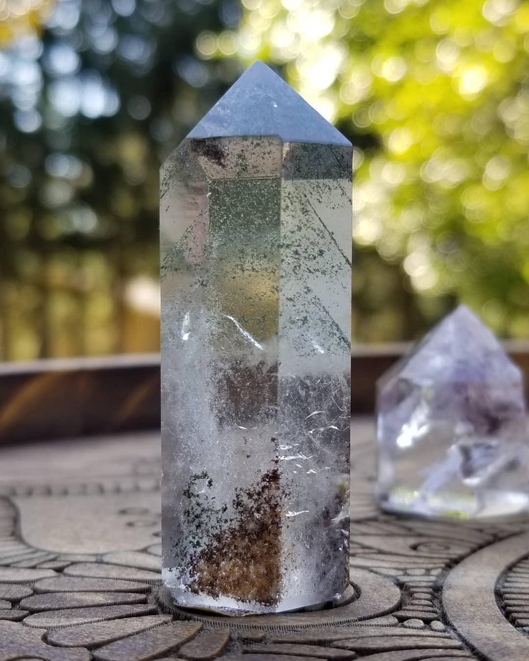 Image of Lodalite Chlorite - Zoned Phantom Quartz