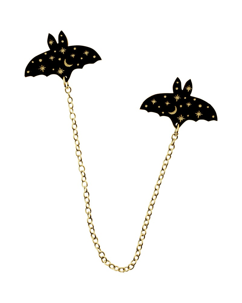 Image of Constellation Bat Collar Clips