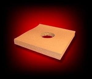 Image of 20 Pochettes carton pour 25 cm / 78 Tours [marron]