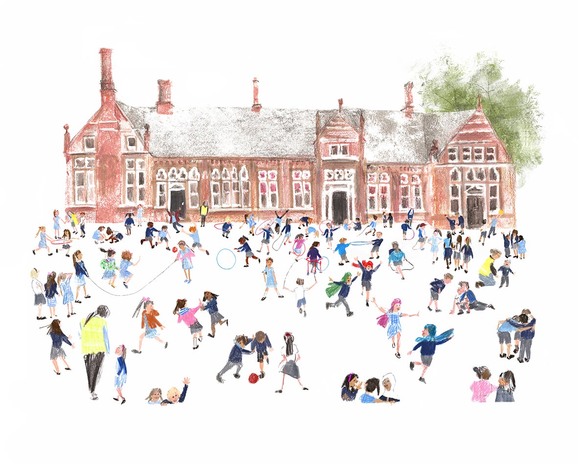 Image of 'Playtime' Limited Edition Giclee Print - 16x20inches