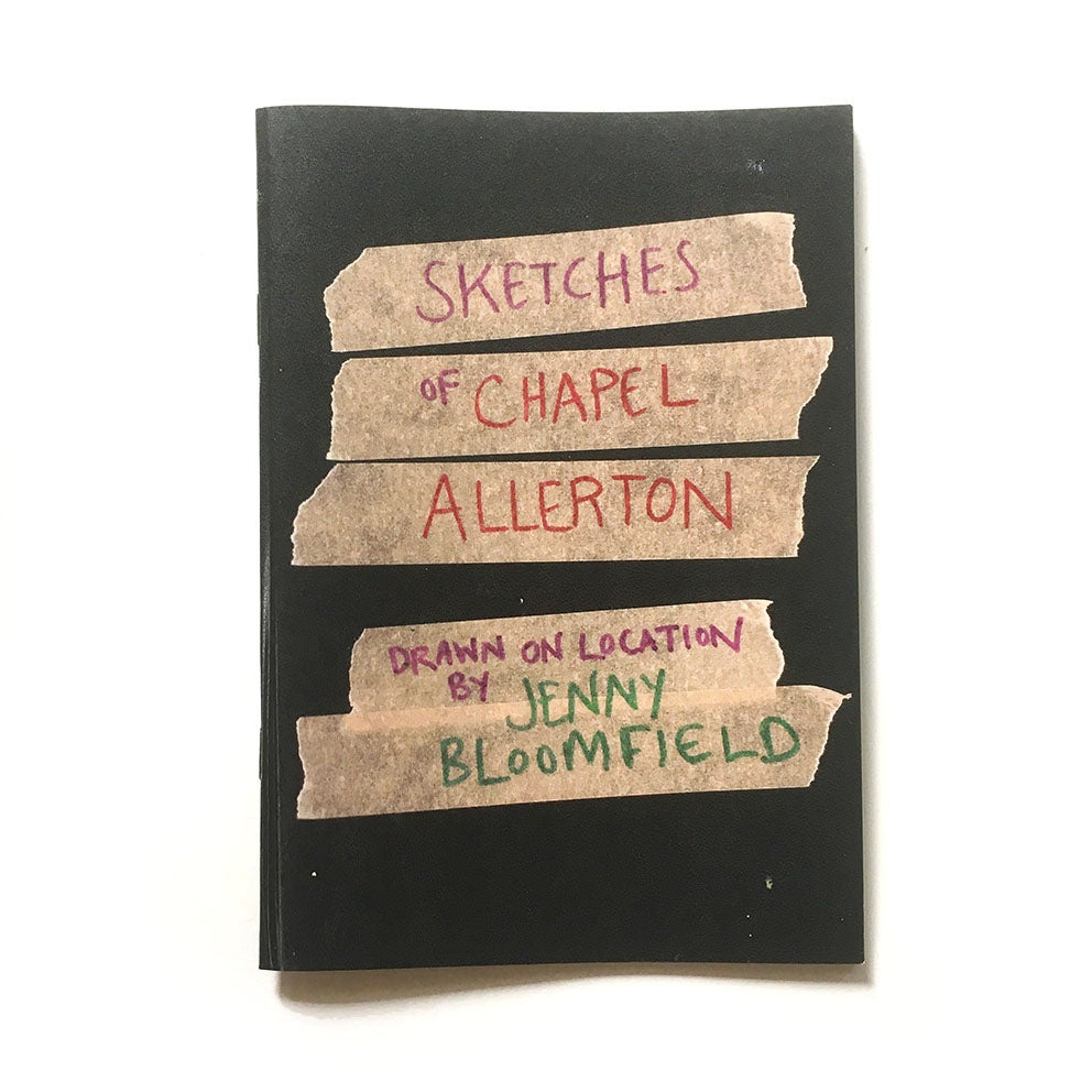 Image of Chapel Allerton Sketchbook Zine