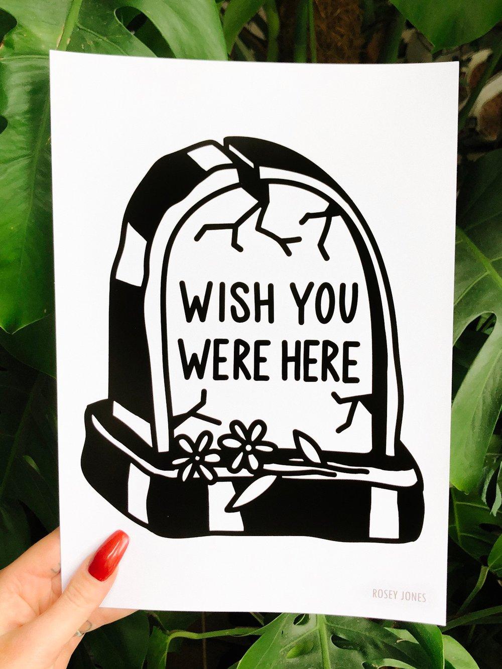 Image of Print Tombstone