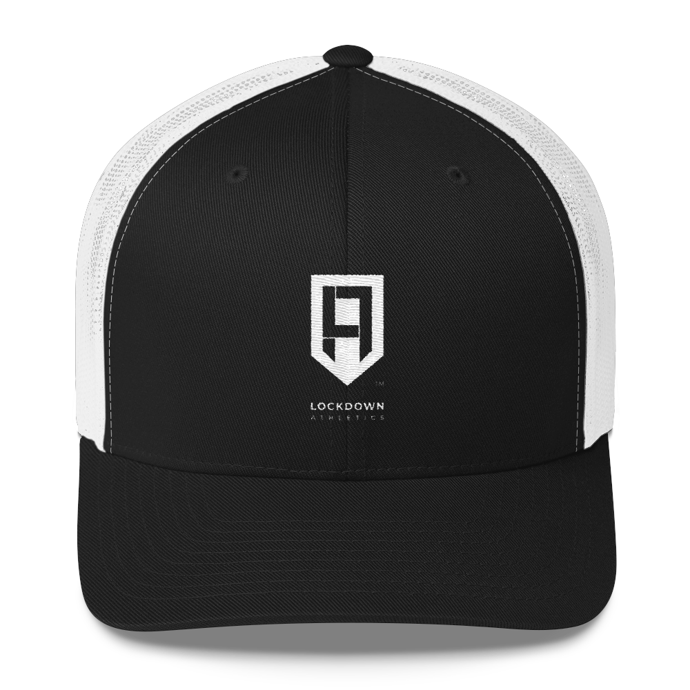 Image of LDA Black & White Trucker Cap