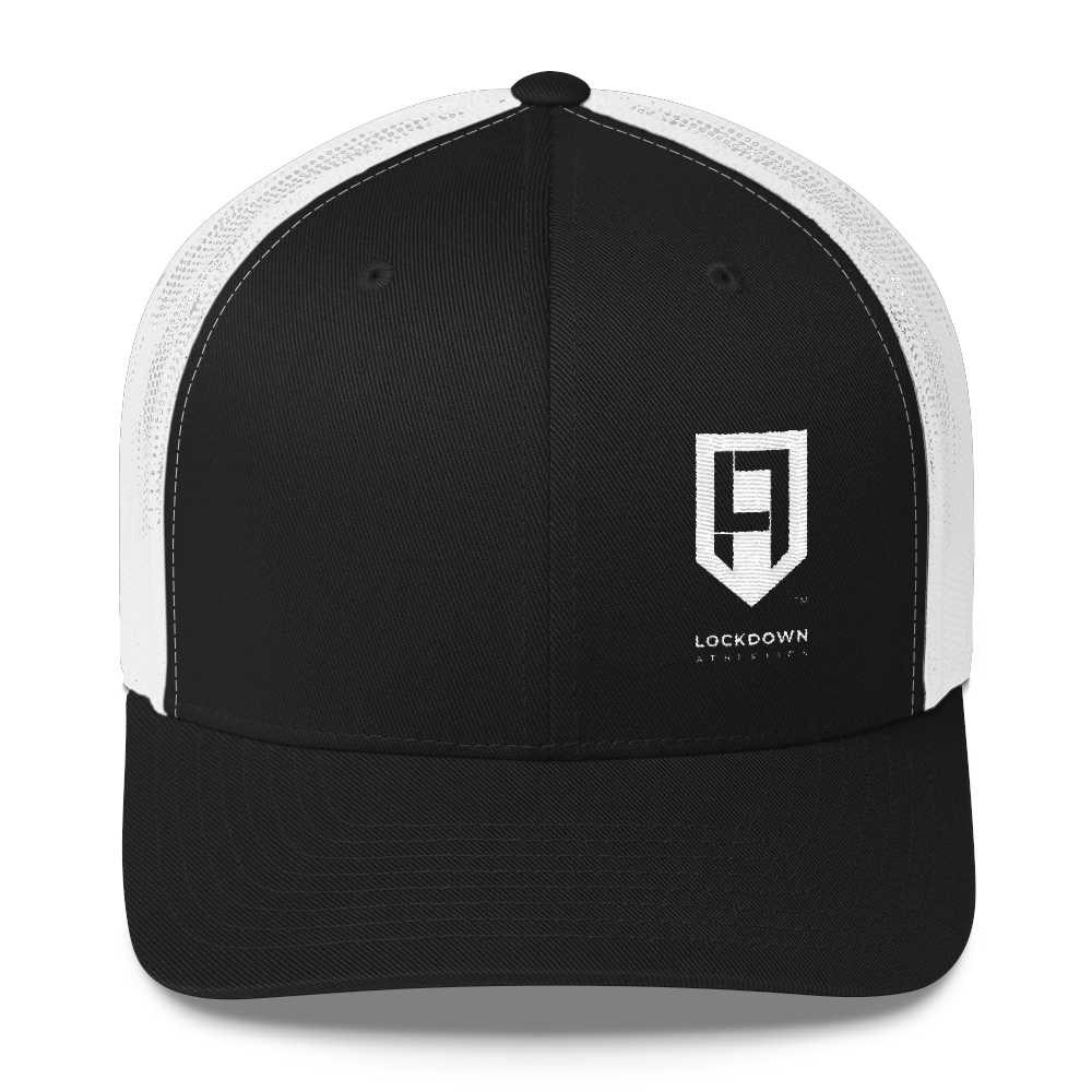 Image of LDA Black & White Trucker (Offset)