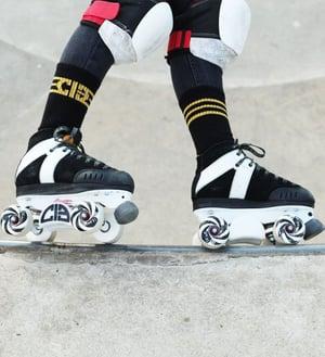 Image of Chicks In Bowls Skate Socks