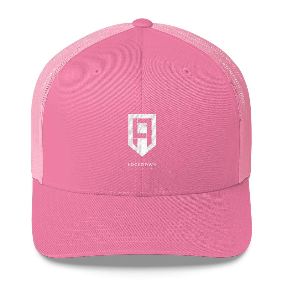 Image of Pink & White Trucker Cap