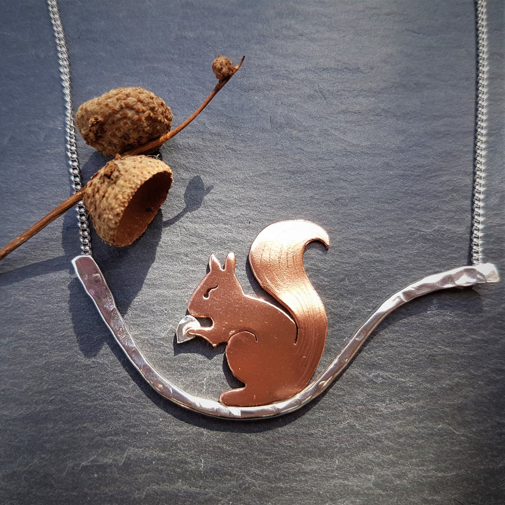 Image of Red Squirrel Necklace