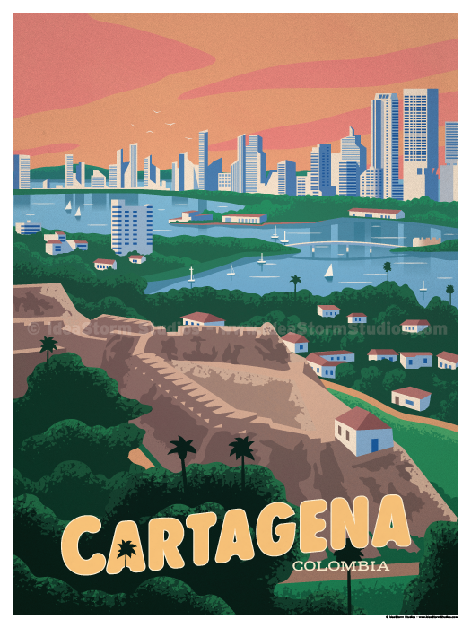Image of Cartagena Poster