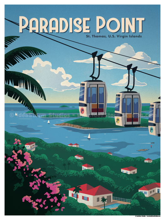 Image of Paradise Point Poster
