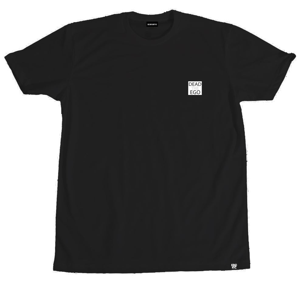 Image of KingNYC Dead The Ego Left Chest Logo T-Shirt